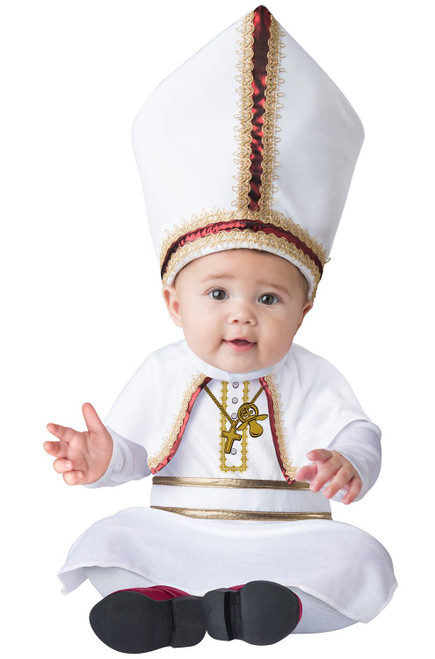 Pint Sized Pope Infant Costume Baby Costume Boys Halloween Costume Infant Large 18-24M