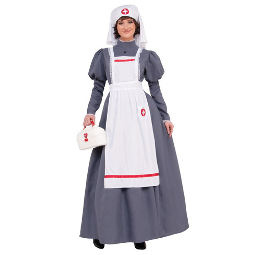 Civil War Nurse Adult Womens Costume New Standard Size