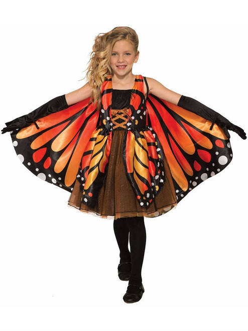 Butterfly Girl Costume for Kids Small