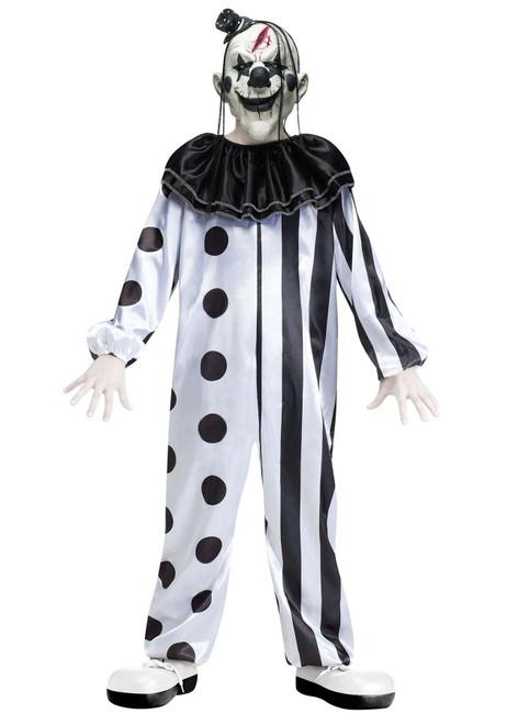 Killer Clown Boys Halloween Costume