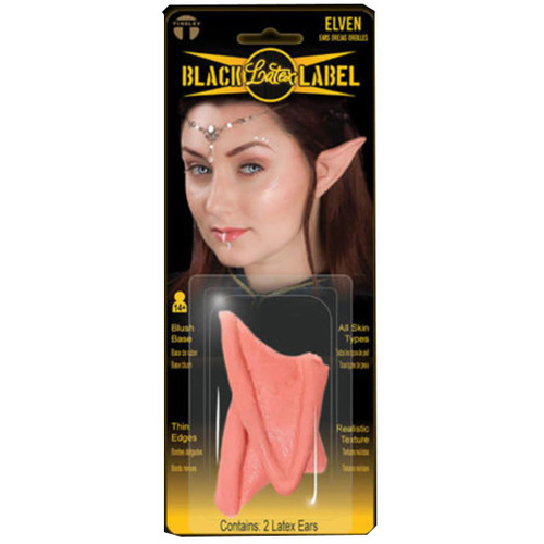 The Hobbit Elf Elven Ears - Black Label