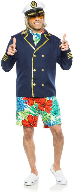 Seeing Red Captain Yachty Costume for Men