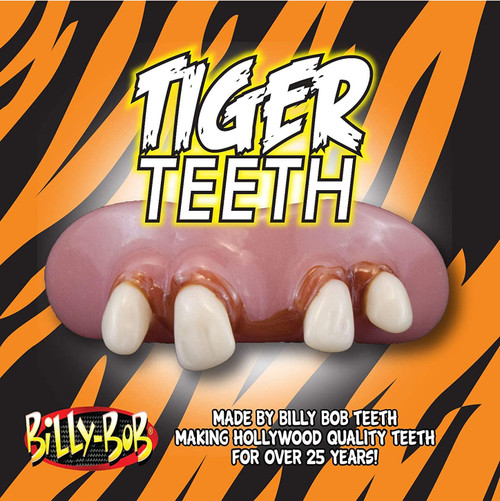 Billy Bob Joe Exotic Tiger Socially Distanced  Teeth