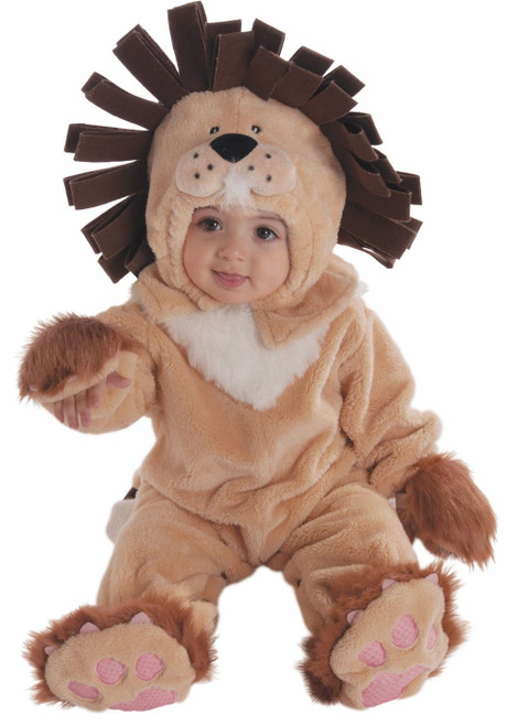 Forum Novelties Babys Lion Infant Costume Polyester Headpiece Jumpsuit