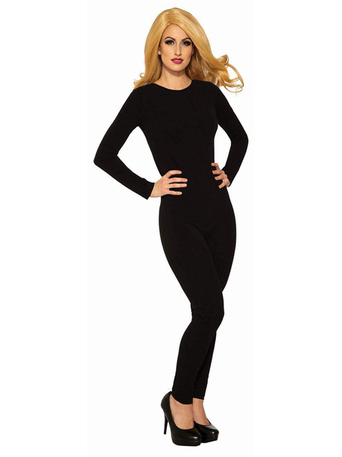 Forum Novelties Women's Black Unitard Cat Halloween Costume