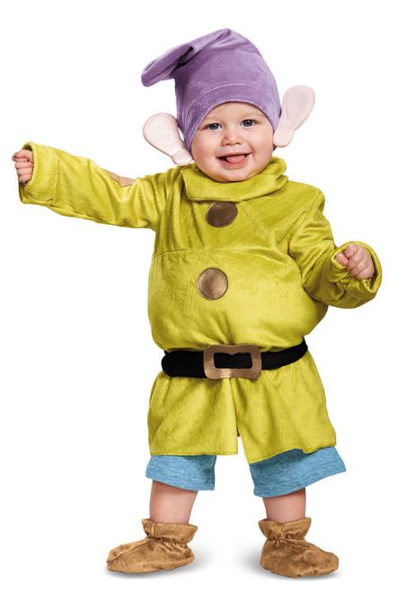 Deluxe Dopey Baby Infant Costume - Baby 6-12M