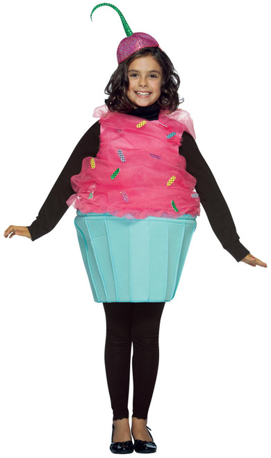 Sweet Eats Cupcake Kids Costume 7-10 Rasta 9533
