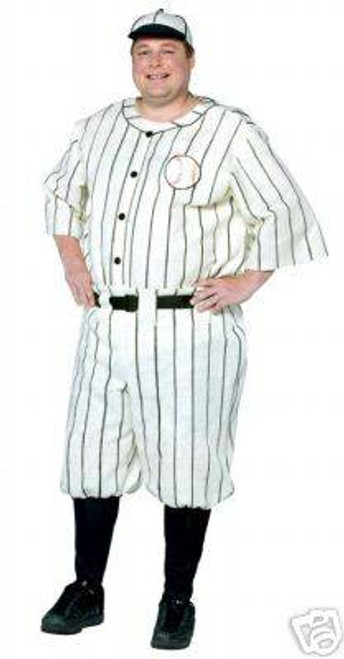 Old Time Baseball Player Halloween Costume XXL Rasta Imposta