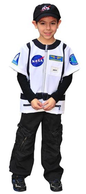 Astronaut shirt  career dress up boys kids toddler halloween costume ages 3 5