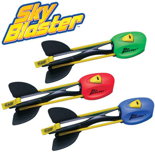 Aeromax Summer Backyard Flying Toy Sky Blaster Finger Rocket