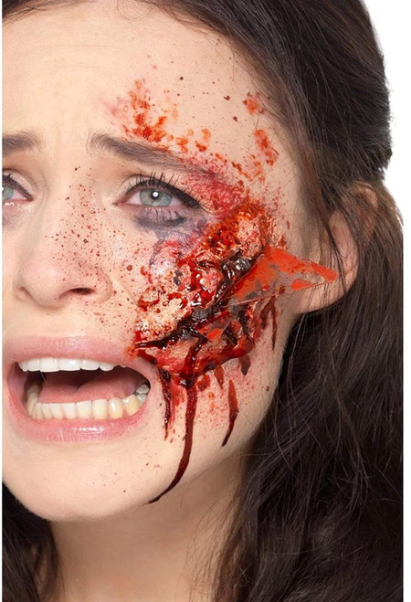 Smiffys Latex Glass Wound Prosthetic Stage Halloween Theatrical Costume Makeup