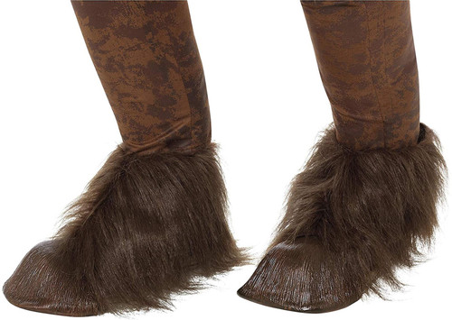 Smiffys Beast/Krampus Demon Hoof Shoe Covers Size - One Size