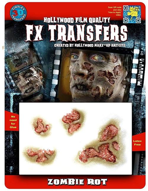 Zombie Rot 3D Tattoo Tinsley Transfers