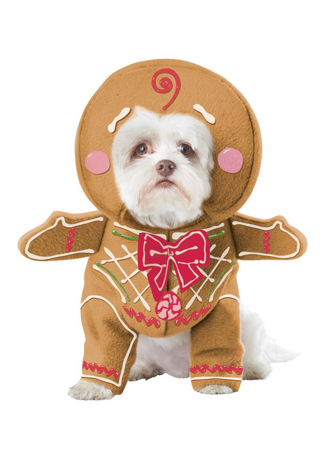 California Costumes Gingerbread Pup Dog Costume