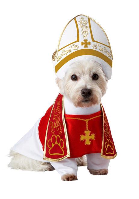 California Costume Collection Holy Hound Pet Costume