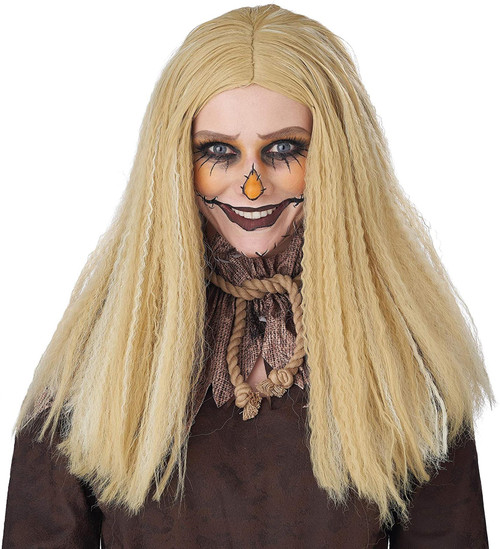 California Costumes Crimped Hair Scarecrow Wig Adult Halloween Costume 7220-072