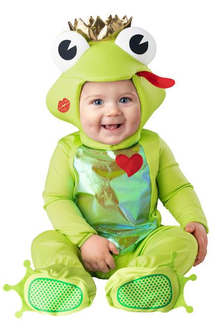 Frog Prince Infant boys girls animal kids toddler halloween costume baby 6-12M