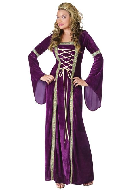 Fun World Costumes Deluxe Renaissance Lady Purple