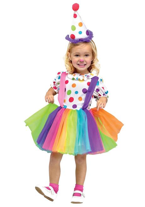 Fun World Big Top Fun Clown Costume for Kids