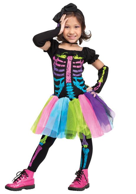 Fun World Toddler Funky Punky Bones Costume