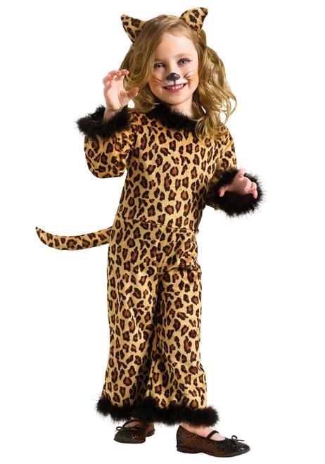 Pretty Leopard Toddler Halloween Kids Cat Costume