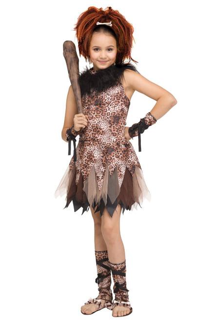 Fun World Cave Girl Cutie Child Costume