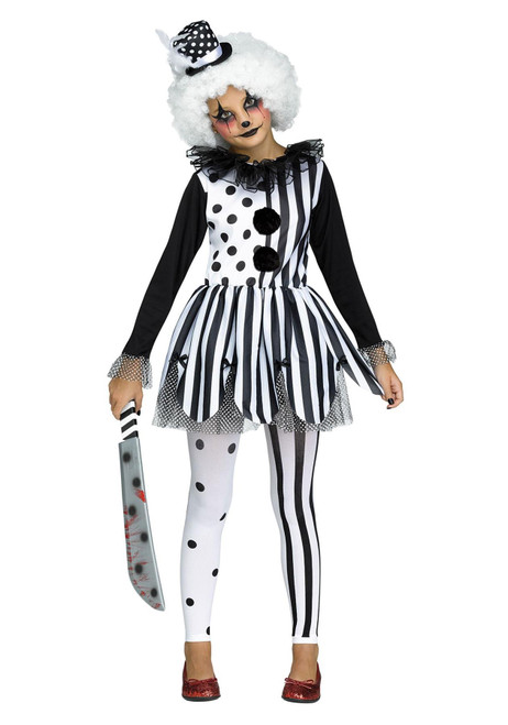Fun World Killer Clown Costume for Girls