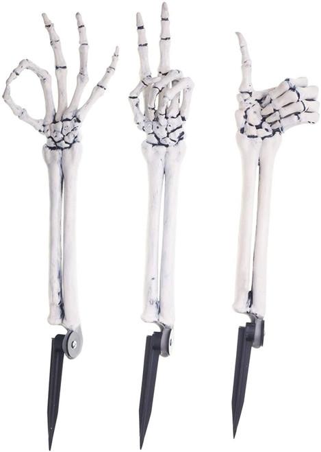 Fun World Grave Greetings Skeleton Arm Breaker