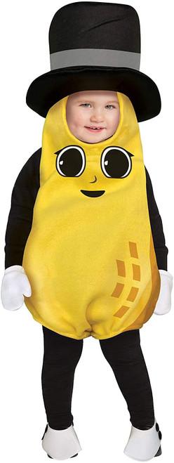 Baby Nut Mr. Peanut Infant Costume - Size 6-12 Months
