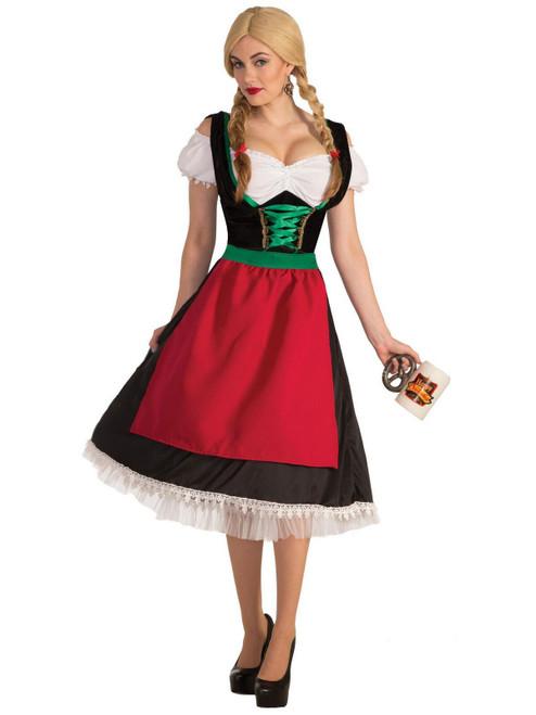 Womens Frisky Fraulein Costume Standard Size