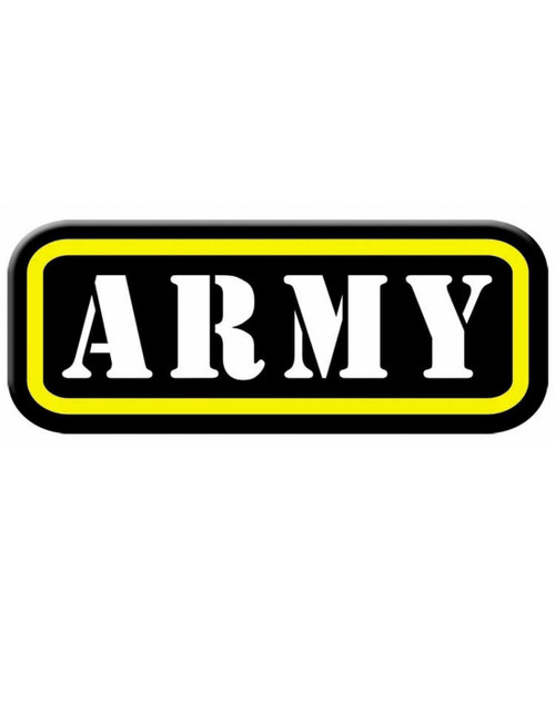 Army Iron On Applique Costume Military Soldier Patch Accessory