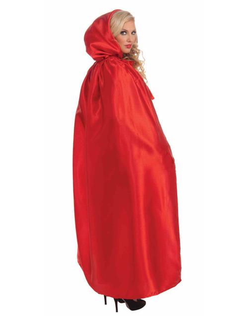 Red Riding Hood Masquerade Mardi Gras Cape Halloween Adult