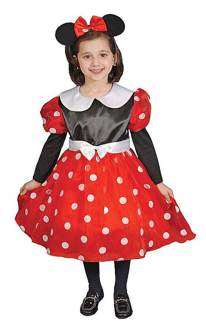 Minnie Mouse Dress Toddler/Girls' Costume