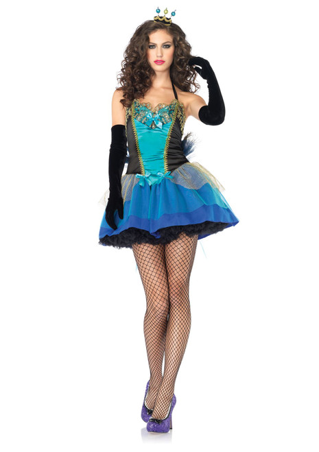 Peacock Tutu Dress Sexy Women's Costume