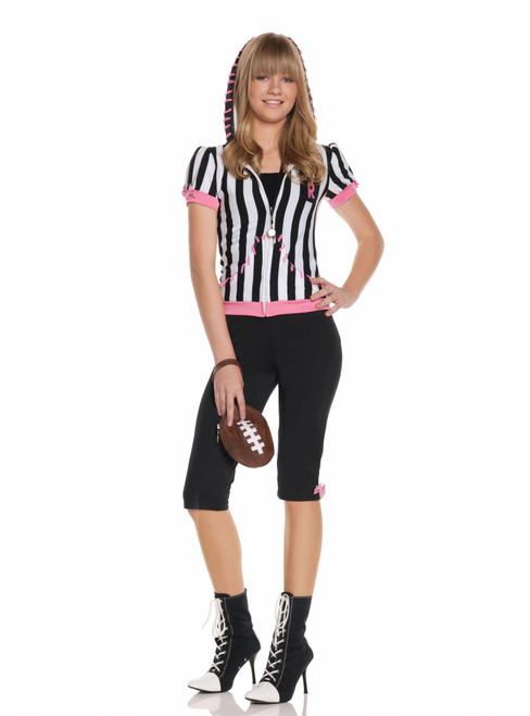 Girls Tween Referee Costume