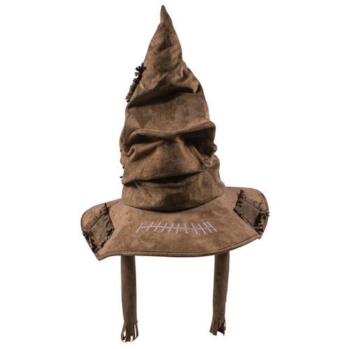 Harry Potter Deluxe Sorting Hat - Adult Brown Wizard Halloween Costume Accessory