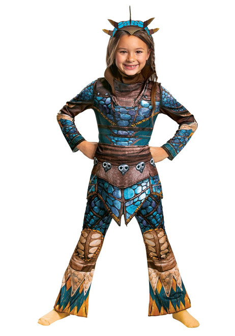 Disguise How to Train Your Dragon Astrid Classic Costume for Girls Medium 7-8