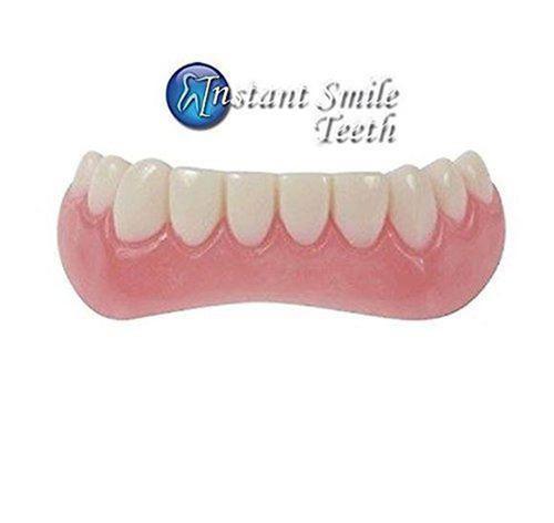 Instant Smile Comfort Fit Flexible Lower Bottom Teeth Fake Dental Veneers 12245
