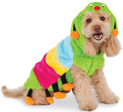 Rubie's Costume Big Dogs Caterpillar Hoodie Pet Costume