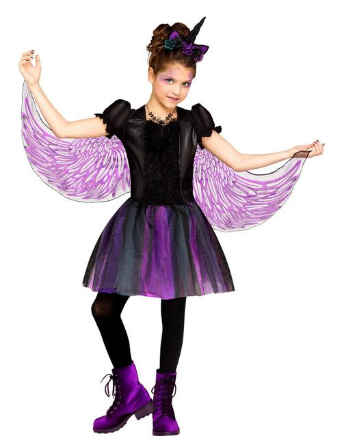 Fun World Moonlight Girls Unicorn Halloween Costume Child Small