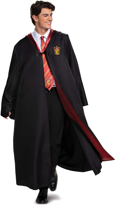 Disguise Mens Harry Potter Gryffindor Deluxe Robe Halloween Costume XL