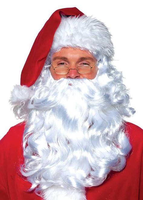 Christmas Costume Santa Claus Synthetic Wig and Beard set