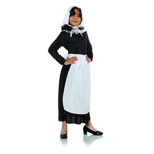 Colonial Apron Child Costume Set Apron & Bonnet One Size Kids