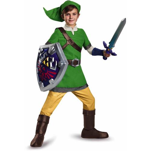 Disguise Link Legend of Zelda Deluxe Child Costume, Large (10-12)