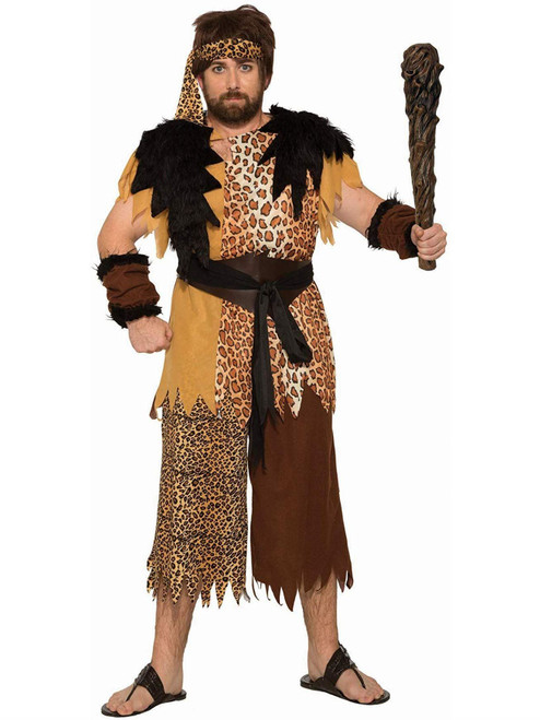Stone Age With This Caveman Plus Costume For Adults