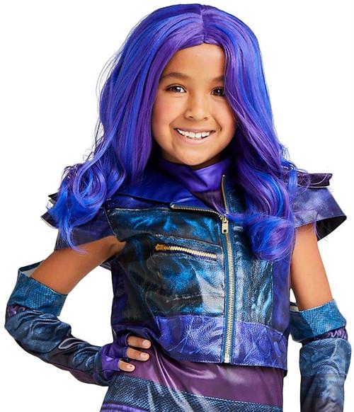 Disney Mal Wig for Kids – Descendants 3