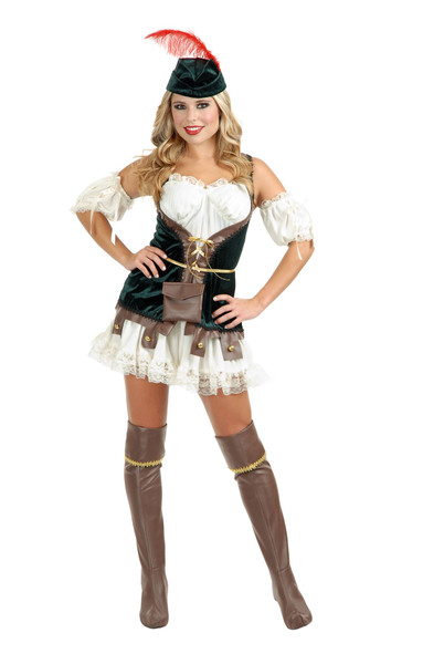 ROBIN HOOD elf adult womens sexy halloween costume L