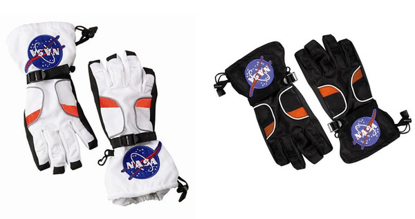 Jr. Astronaut Gloves NASA Kids Costume Accessory by Aeromax