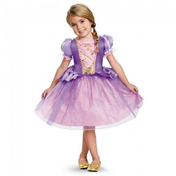 Rapunzel Classic Toddler Costume Dress