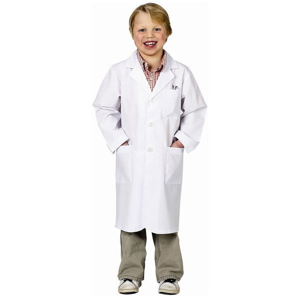Jr. Kids Lab Coat 3/4 Length Scientist Toys by Aeromax
